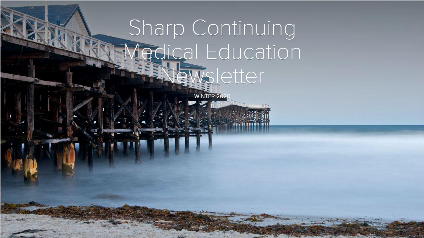 Sharp HealthCare CME Newsletter