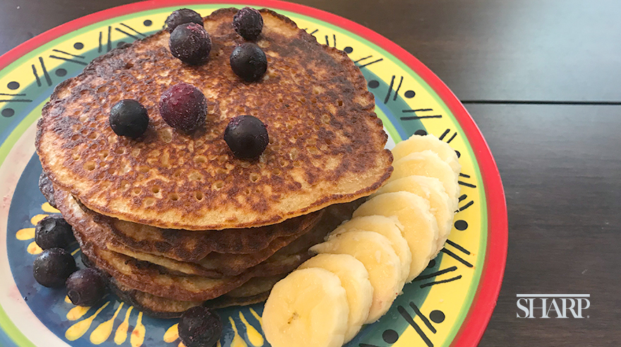Easy gluten-free pancakes (recipe)