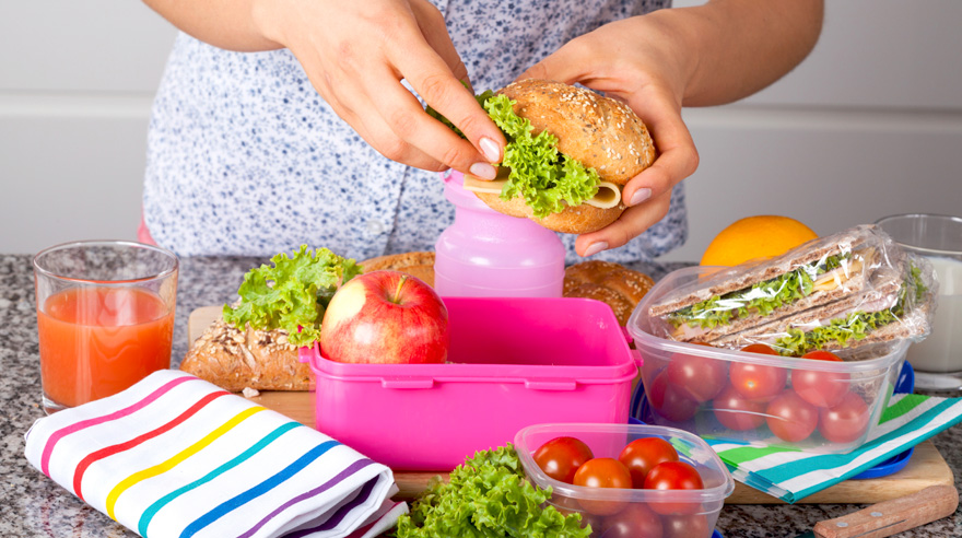 4 tips for packing a healthy lunch