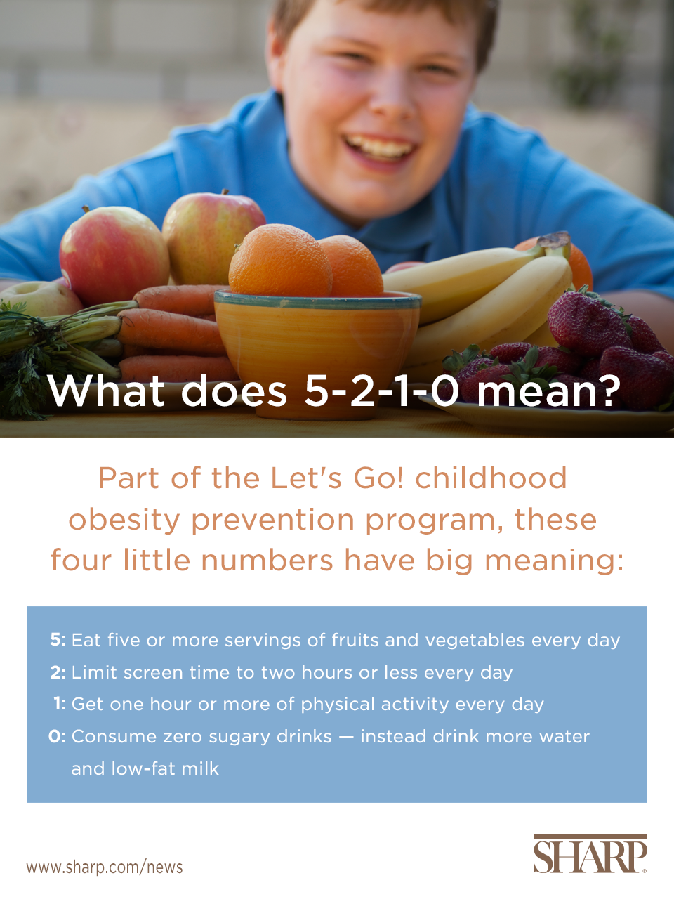 5-2-1-0 Childhood Obesity