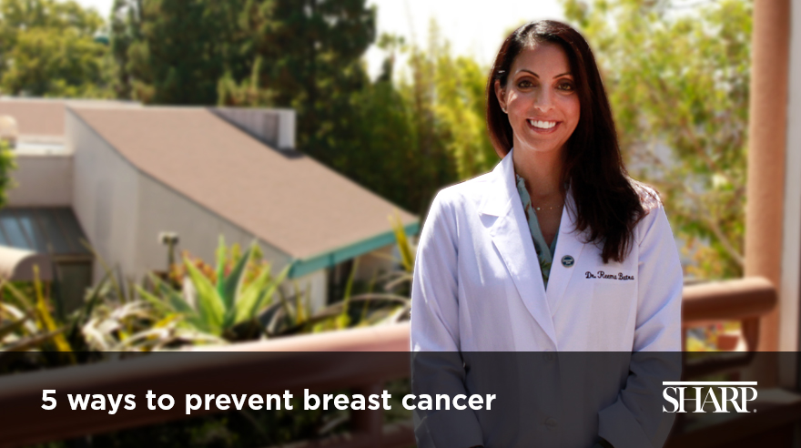 5 ways to reduce your risk of breast cancer (video)