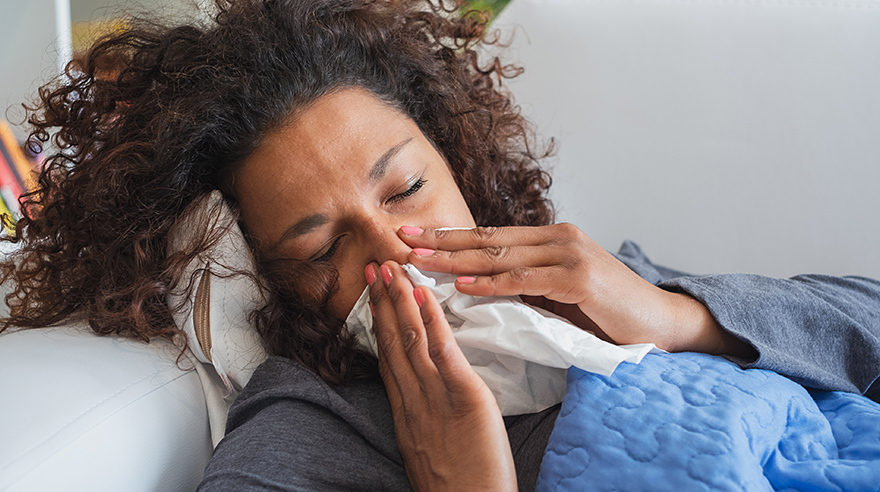 5 reasons to stay home when you're sick