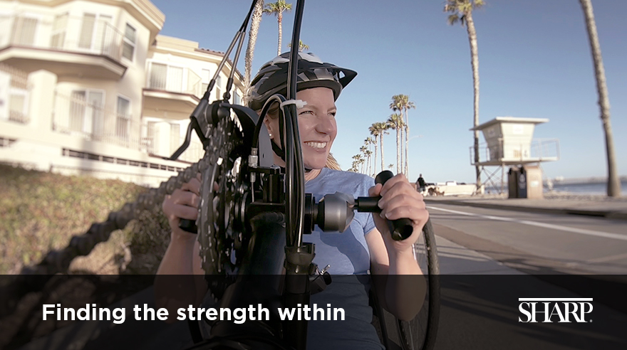Finding the strength within (video)