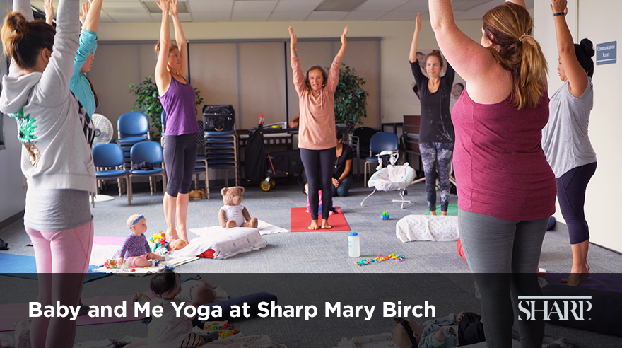 The benefits of Baby and Me Yoga (video)