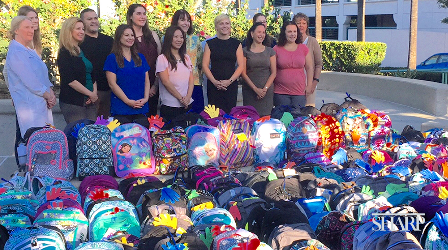 Backpack Drive donates school supplies to local children