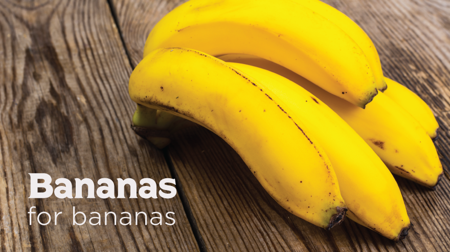 Bananas about bananas (infographic)