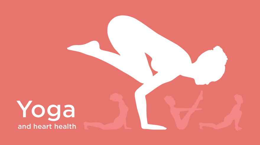 Best yoga poses for heart health