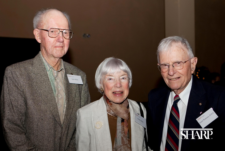 A legacy from lemons - Jack and Dotty Helm with Dr. Watrous