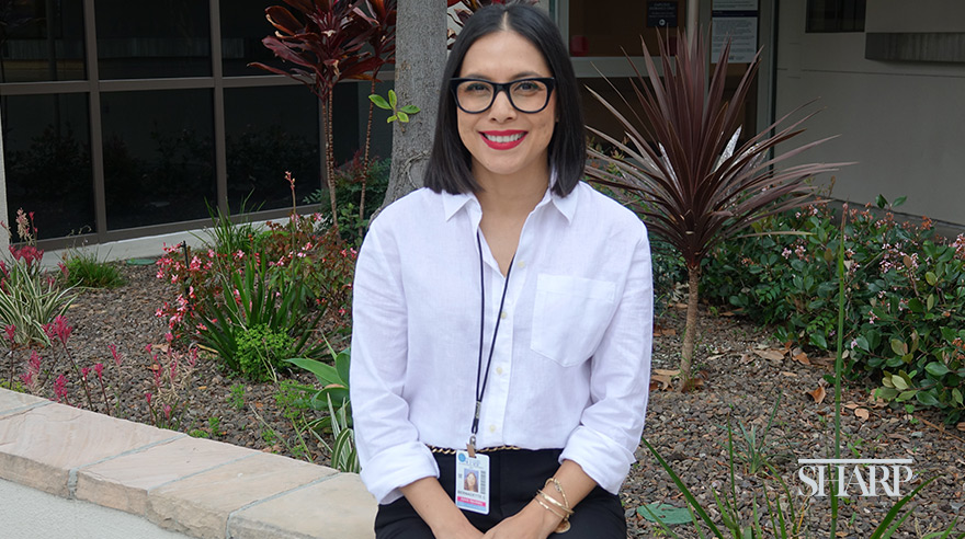 Bernadette Carrasco is a Peer Supporter and co-chair of CAREforYou, a Sharp program designed to support the emotional well-being of health care workers.