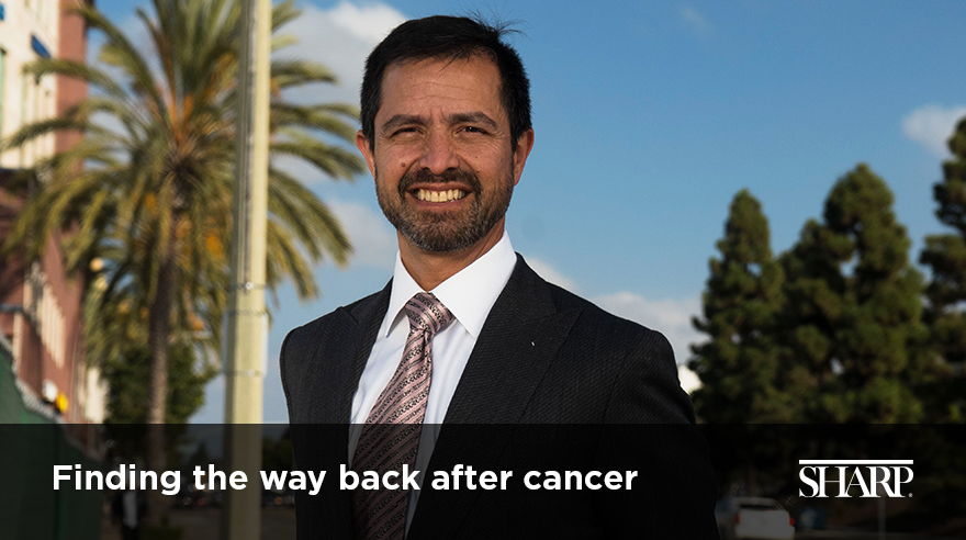 Finding the way back after cancer (video)