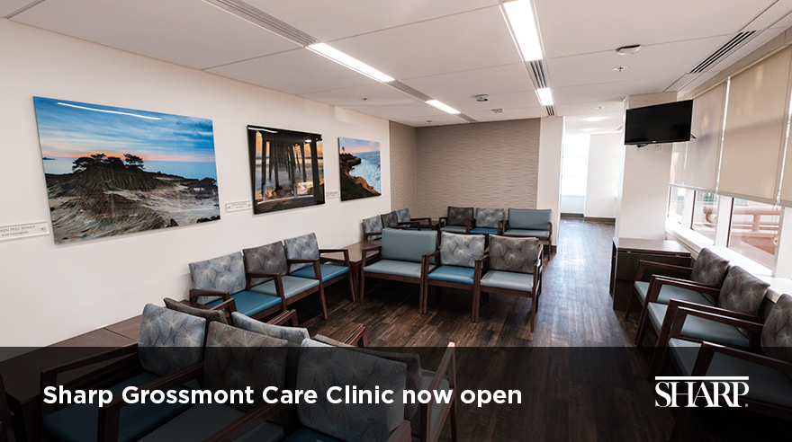 Sharp Grossmont Care Clinic now open (video)