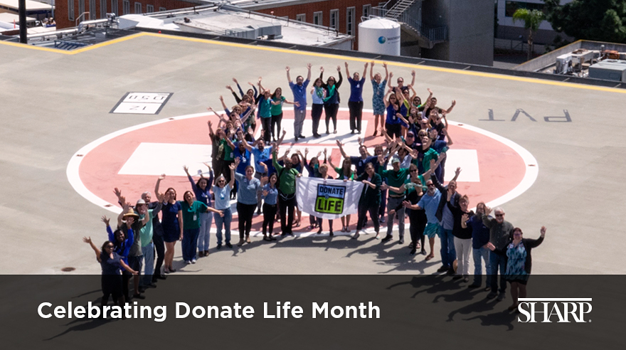Celebrating Donate Life Month (video)