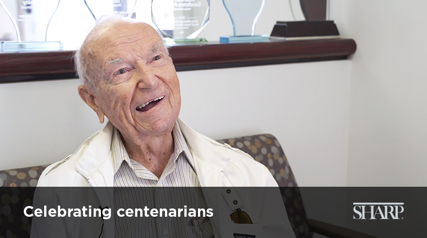 Celebrating centenarians (video)