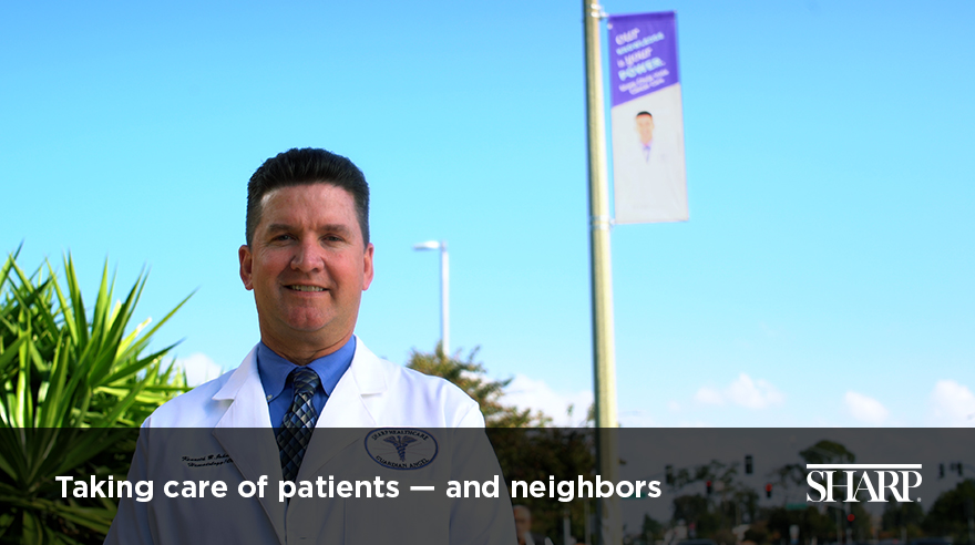 Taking care of patients — and neighbors (video)