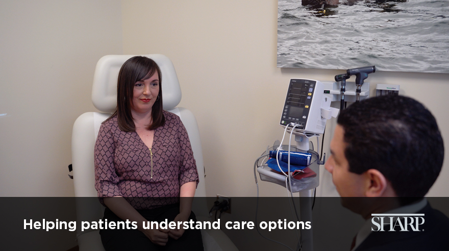 Helping patients understand care options (video)
