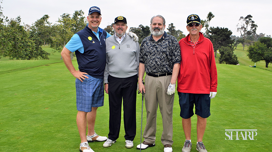 Teeing off for a good cause