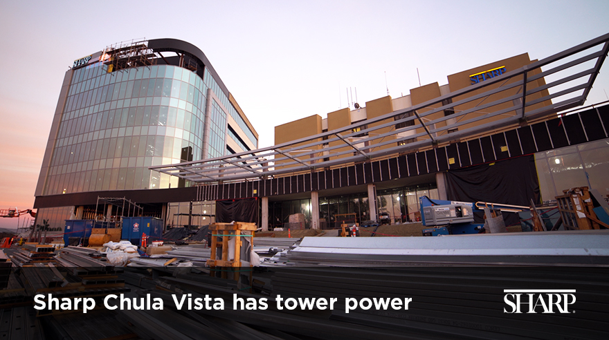 Sharp Chula Vista has tower power (video)