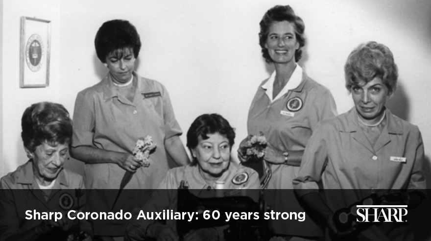 Sharp Coronado Auxiliary: 60 years strong