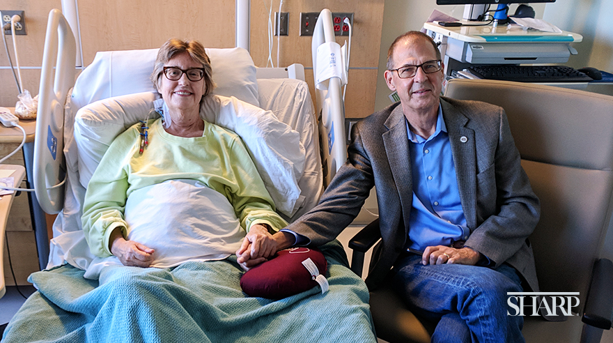 One couple, two organ transplants