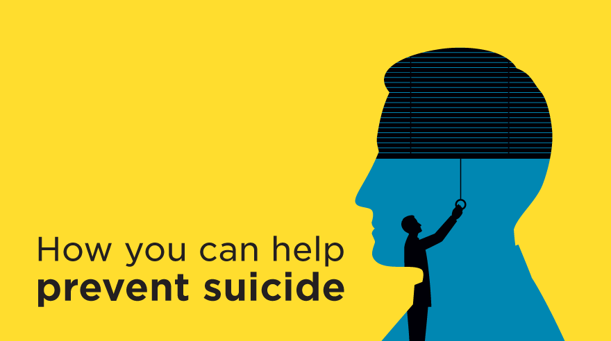 How you can help prevent suicide