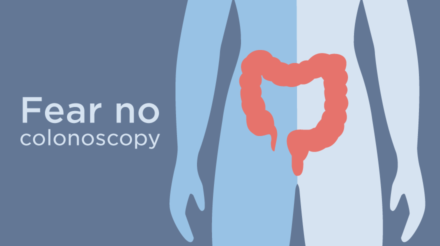 Fear no colonoscopy (infographic)