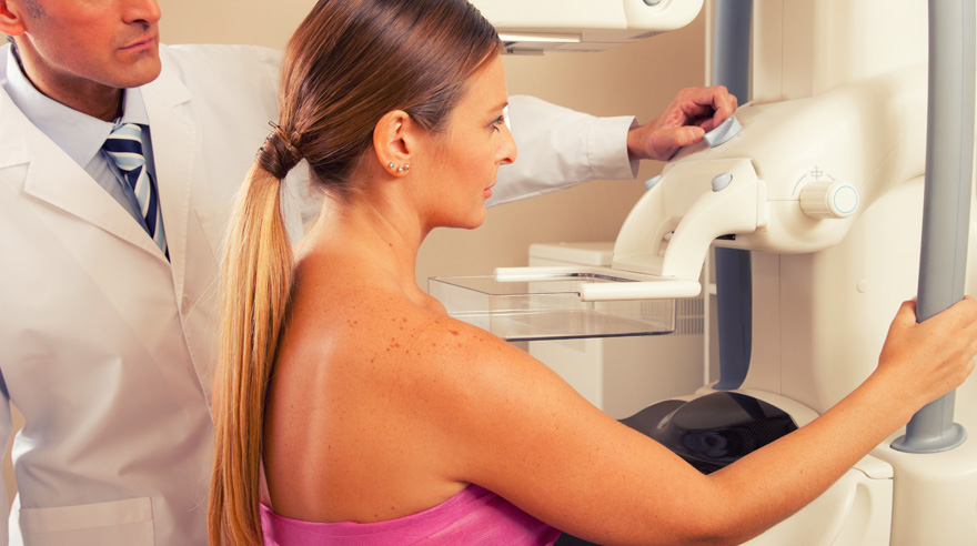 Dense breast tissue and breast cancer