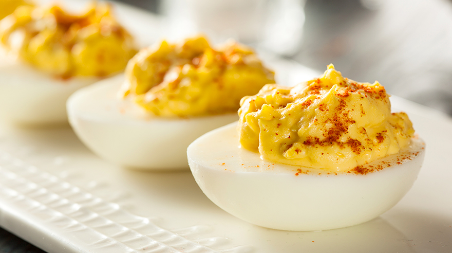 Heavenly deviled eggs (recipe)