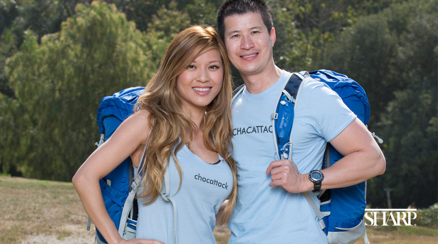 Dr. Rick Chac on the Amazing Race