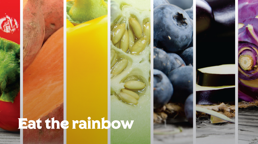 Eat the rainbow (infographic)