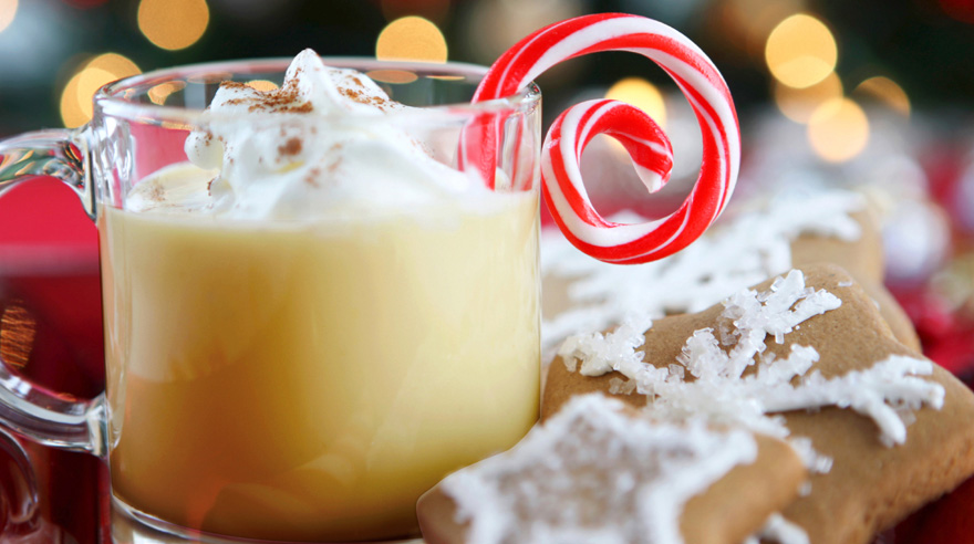 eggnog and peppermint mocha recipes