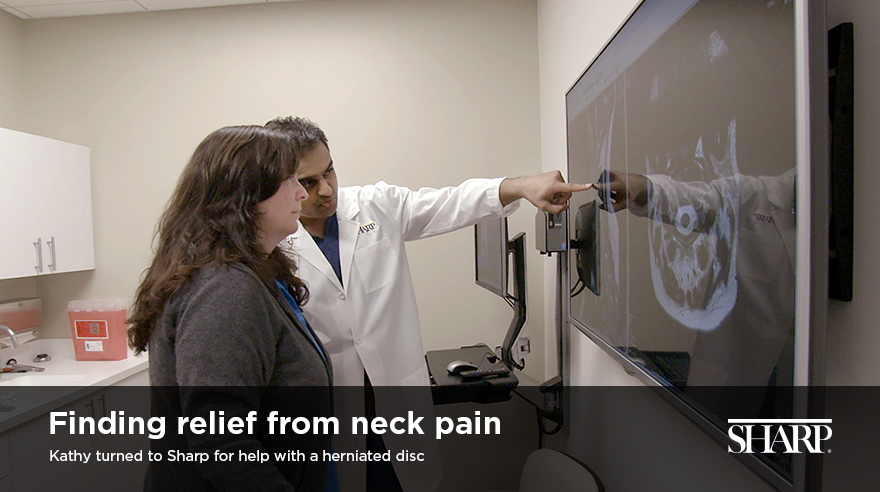 Finding relief from neck pain (video)