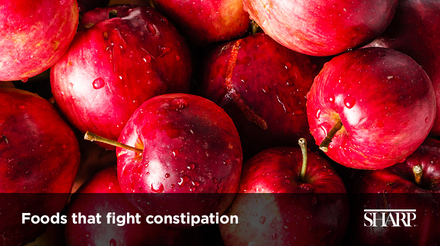 Foods that fight constipation (video)