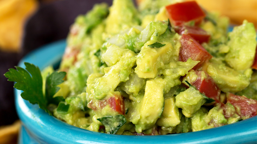 A twist on simple guacamole (recipe)