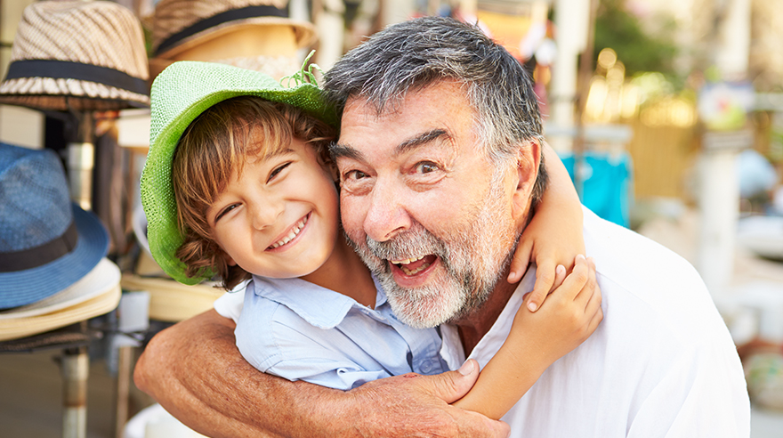 The health benefits of grandparents