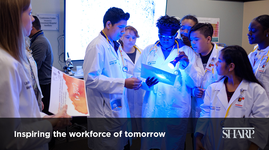 Inspiring the workforce of tomorrow (video)