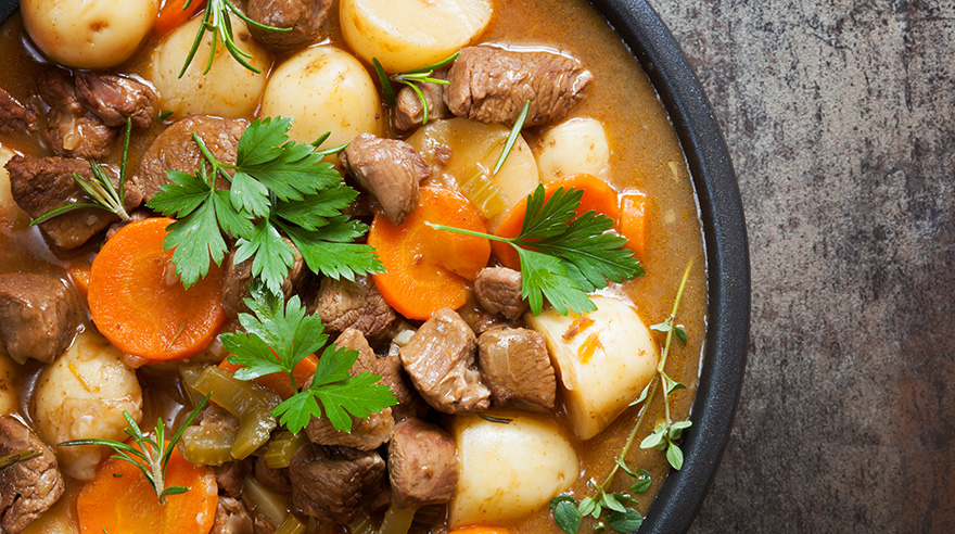 Healthier Irish stew (recipe)