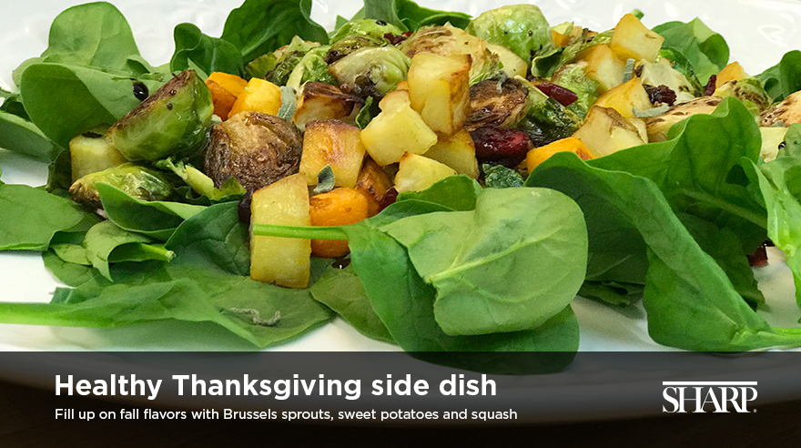 Healthy Thanksgiving side dish (recipe)