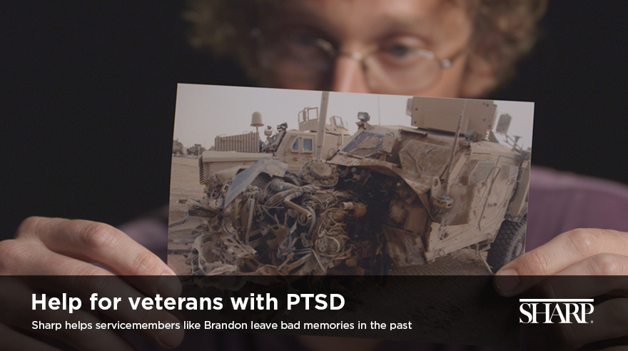 Help for veterans with PTSD (video)