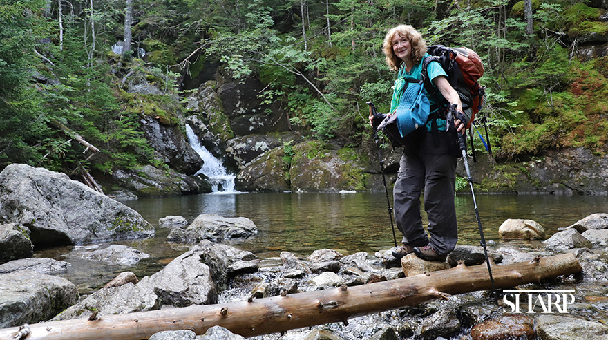At age 70 and a grandmother of 5, Sue Rose has set out to complete the Pacific Crest Trail which spans 2,650 miles from Mexico to Canada.