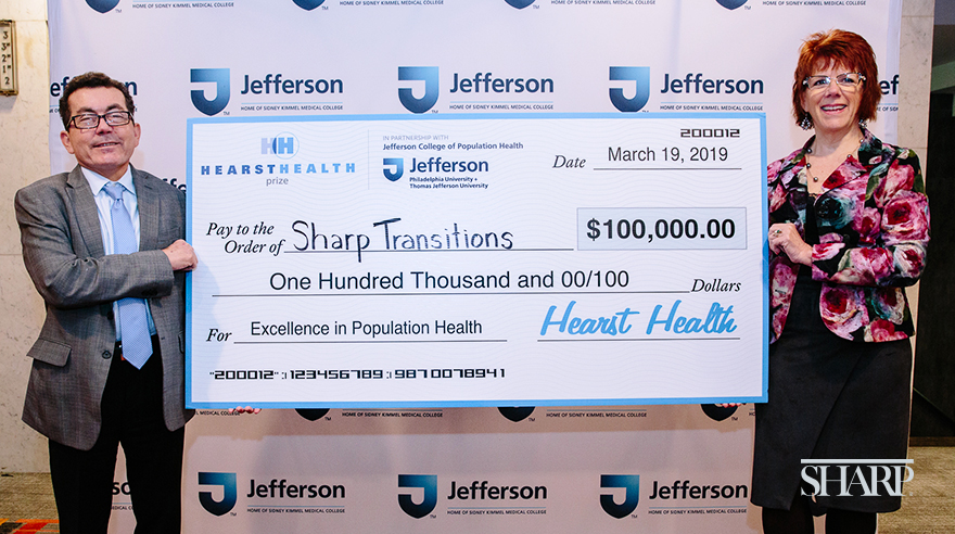 Sharp hospice program wins Hearst Health Prize