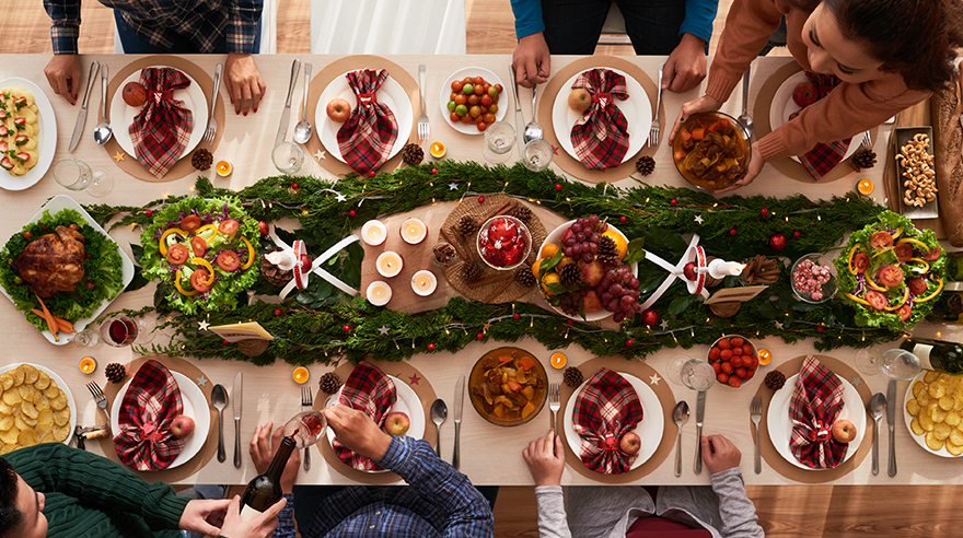 How dietitians navigate the holidays