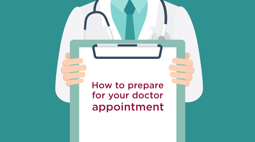 How to prepare for an appointment with your doctor