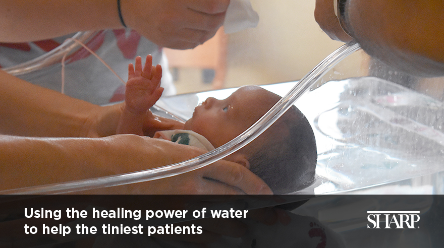 Hydrotherapy in the NICU (video)