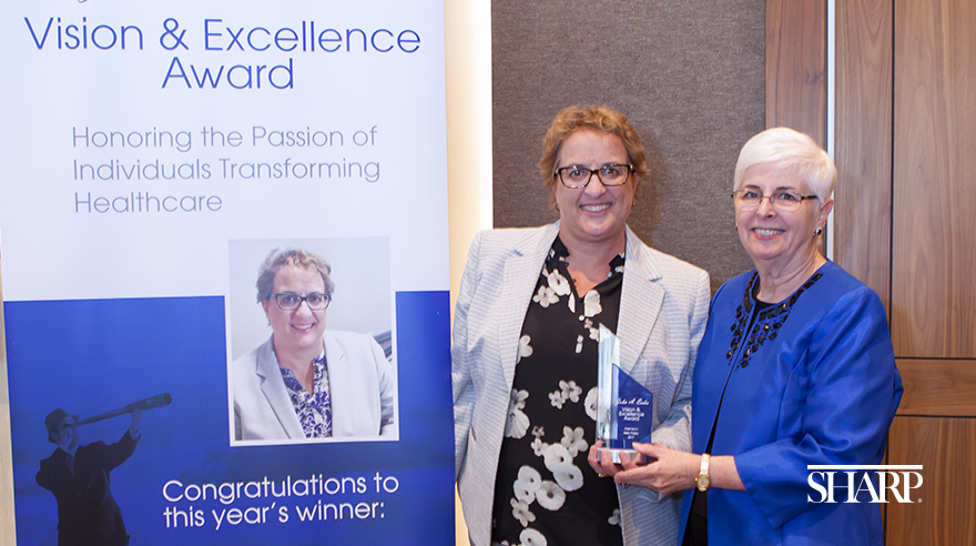 Sharp recognized for excellence in digital communications