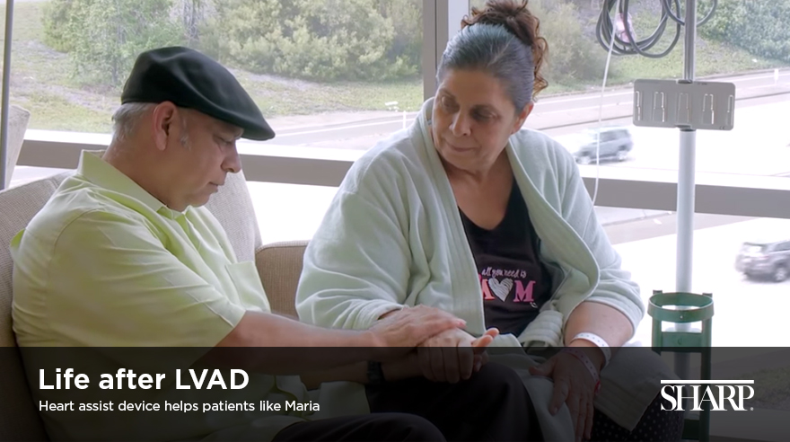 Life after LVAD: Maria's story