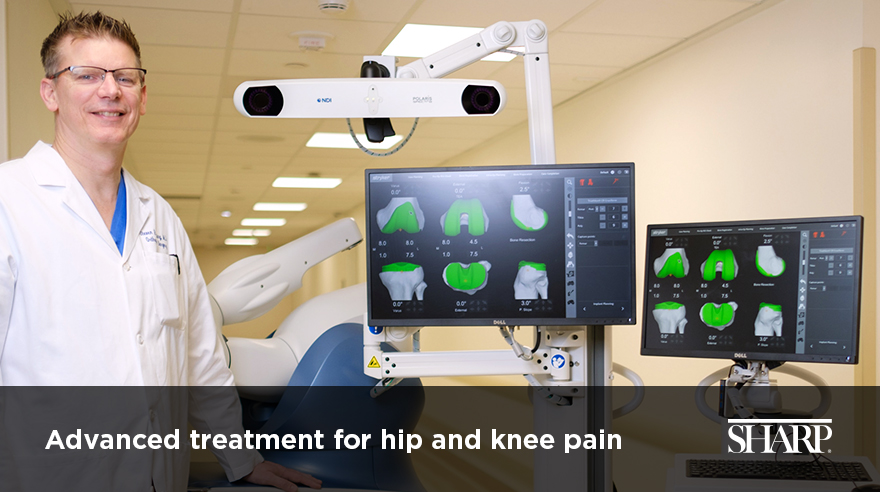 Advanced treatment for hip and knee pain