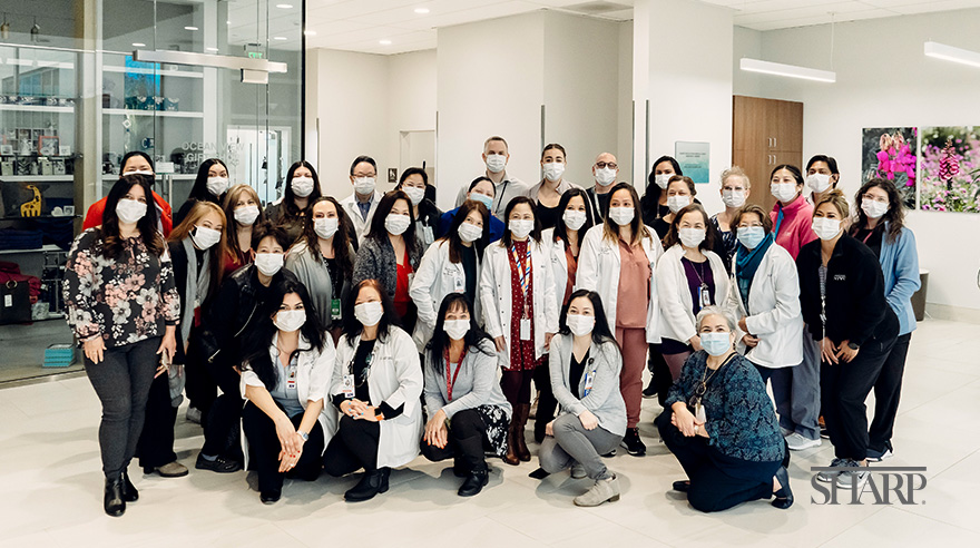 Sharp Chula Vista Medical Center's case management team continue to go the extra mile for their patients despite the challenges they have faced during the COVID-19 pandemic.