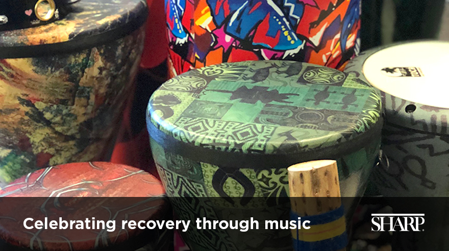 Celebrating recovery through music (video)