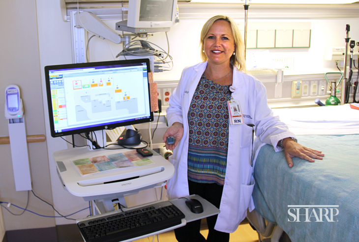 Deanna White, RN, director of acute care at Sharp Chula Vista Medical Center.