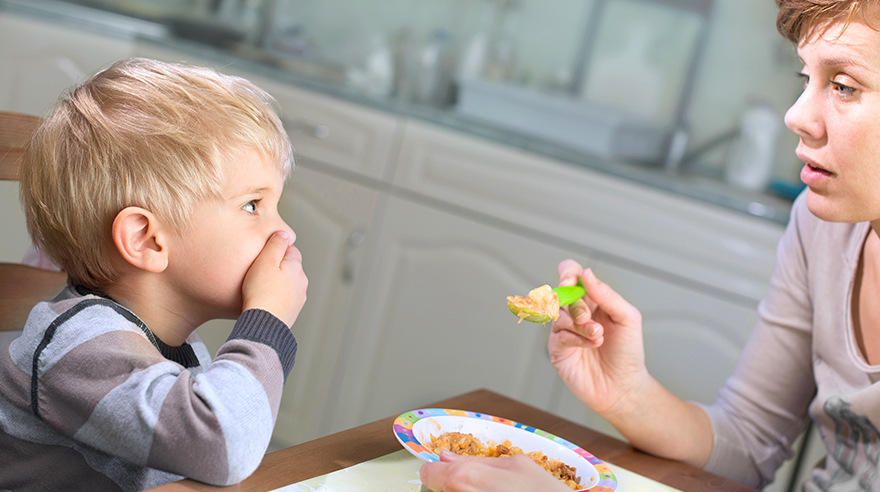 My kid won't eat. Will he starve?